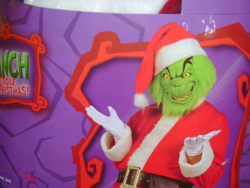 Grinch Costume Rental